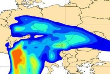 Norul de praf saharian ajunge și în România, anunță Ministerul Mediului