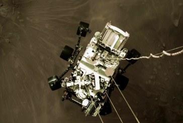 Noi imagini spectaculoase trimise de pe planeta Marte de roverul Perseverance al NASA