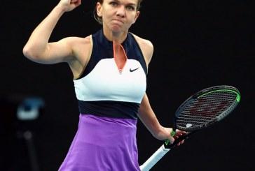 Simona Halep a debutat cu victorie la Australian Open