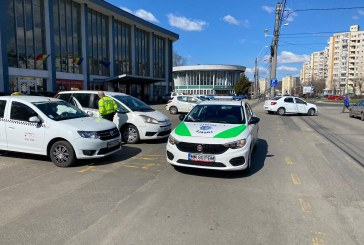 Razie printre taximetriști organizată de Poliția Locală Baia Mare