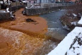 Amenda pentru poluarea cu ape de mină: 120.000 de lei