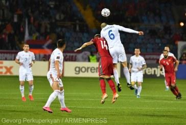 Fotbal: România, învinsă de Armenia cu 3-2, în preliminariile CM 2022