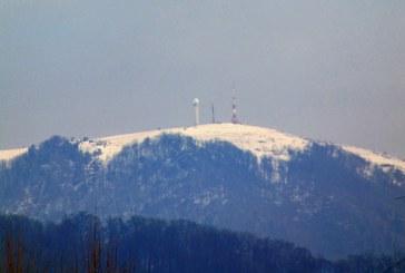 Imaginea zilei: Zăpadă multă pe Igniș