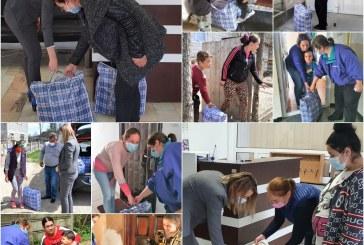 Funcționarii din aparatul de specialitate al DGASPC Maramureș ajută 25 de familii din județ fără posibilități materiale