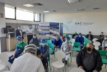 INTERES MARE – UAC Dumbrăvița a început vaccinarea propriilor angajați (VIDEO)