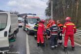 ALERTĂ – Accident rutier cu două mașini la intrare în Vadu Izei