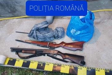 Captură de proporții în Maramureș: Arme, cartușe și diferite trofee de vânătoare indisponibilizate de polițiști