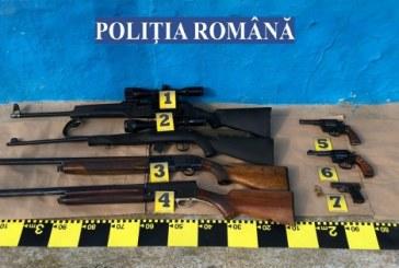 PERCHEZIȚII – Se îmbogățeau din afaceri ilegale cu arme