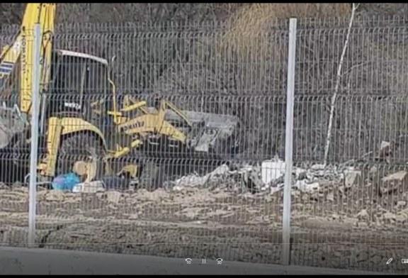 VIDEO – Așa se ascund gunoaiele la Borșa