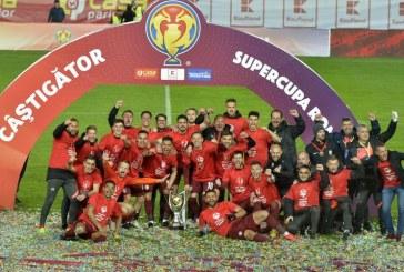 CFR Cluj a câştigat Supercupa României, după 4-1 cu FCSB la loviturile de departajare