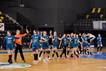 HANDBAL FEMININ – Minaur, pe podium înainte de finalul turului de campionat