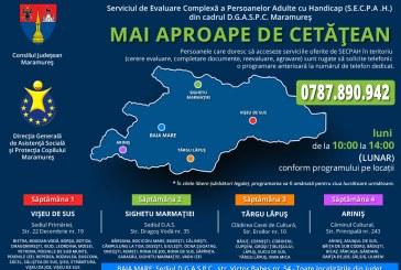Serviciul de Evaluare Complexă a Persoanelor Adulte cu Handicap îşi va desfăşura activitatea în patru noi locaţii din Maramureş