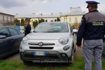 FURT ITALIA – Mașină de 15.000 euro depistată la un moiseian