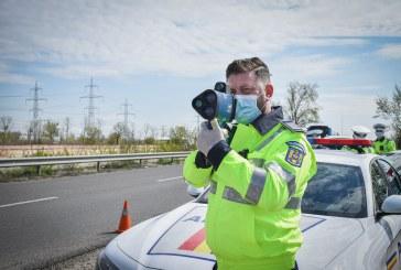INCONȘTIENȚĂ – Prins de radar cu 154 km/h între Valea Chioarului și Buciumi
