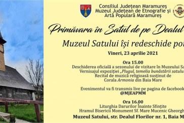 Muzeul Satului din Baia Mare își redeschide porțile
