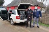 PRINS DE POLITISTI- Un maramureșean a fost lăsat în urmă de prietenii contrabandiști