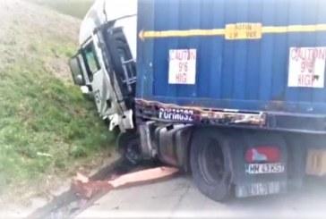 ACCIDENT MORTAL- O femeie din Franța a lovit cu mașina un TIR condus de un maramureșean