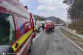 VADU IZEI – Accident rutier cu două mașini implicate