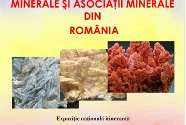 """La Piatra Neamț va avea loc expoziția națională itinerantă """"Minerale și asociații minerale din România"""""""