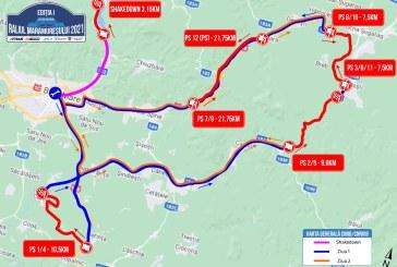 Prin ce localități va trece Raliul Maramureușului 2021. Vezi harta competiției și programul detaliat