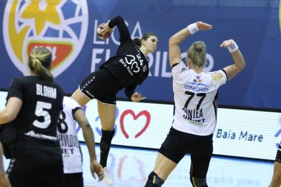 Handbal feminin: Victorie cu CSU Cluj pentru CS Minaur și încă șase meciuri pentru a apăra locul al doilea