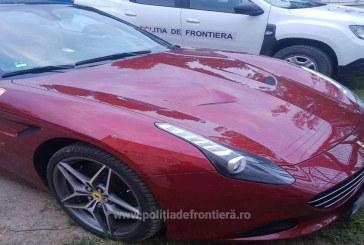 LUX – Ferrari furat din Germania, oprit în trafic de polițiștii de frontieră