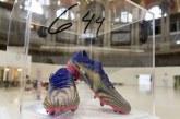 Fotbal: O pereche de ghete ale lui Messi, vândute la licitaţie pentru 143.000 euro