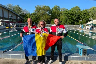 Înot: Clasări pe podium în Ungaria pentgrupentru Clubul Sportiv Gold Stars Baia Mare