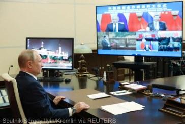 Preşedinţii chinez şi rus au inaugurat online construirea în comun a unor noi reactoare nucleare în China