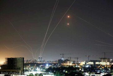 Ploaie de rachete lansate din Fâşia Gaza spre metropola israeliană Tel Aviv
