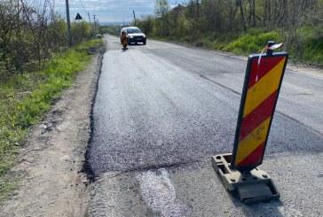 PENTRU ȘOFERI – Se repară drumul județean între Orașu Nou și Seini