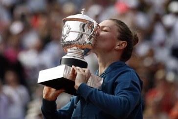 Simona Halep a devenit principala favorită la câștigarea Roland Garros