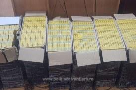 IGPR: Peste 65 de tone de tutun şi aproape 44 de milioane de ţigarete, confiscate în acest an; 712 dosare penale