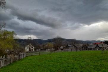 ALERTĂ METEO – Ploi în localitățile de munte ale Maramureșului în zilele care vin