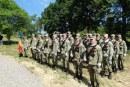Berbești: Militarii maramureșeni au depus coroane si jerbe de flori la troița legionarilor polonezi (FOTO)