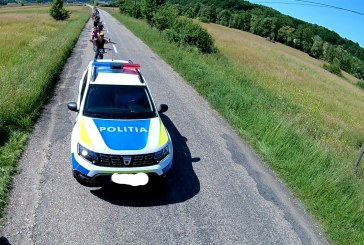 Maramureș – Excursie cu peripeții! Bicicliști escortați tocmai de… poliție
