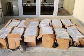 PENTRU PIAȚĂ NEAGRĂ – Țigări de contrabandă depistate abandonate la Valea Vișeului