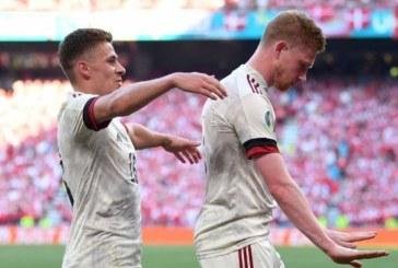 EURO 2020: Belgia, calificată în optimi după 2-1 cu Danemarca