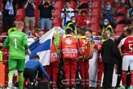 Danezul Christian Eriksen s-a prăbușit pe teren și a fost resuscitat la meciul cu Finlanda de la EURO