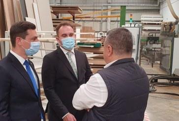 Ionel Bogdan a vizitat o investiție românească din regiunea Madridului