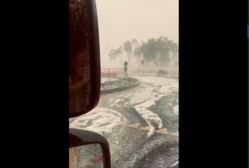 VREME REA – Maramureseni surprinși de o furtună în nordul Italiei