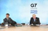 Macron şi Johnson au avut o dispută la G7 pe marginea geografiei post-Brexit a Regatului Unit