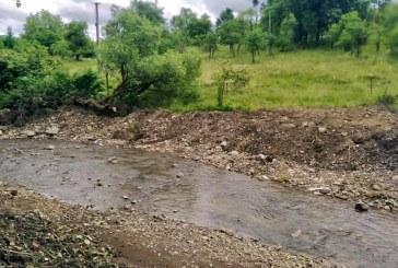 S-au finalizat lucrările de decolmatare pe râul Chechiș