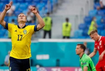 EURO 2020: Suedia a învins Polonia (3-2) şi a câştigat Grupa E