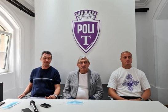 FOTBAL – Fostul antrenor al CS Minaur a bătut palma cu Poli Timișoara