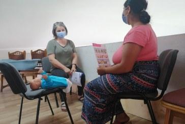 FOTO – Alfabetizare, cursuri de îngrijire copil și alăptare la Ponorâta