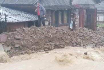 APELE SE UMFLĂ – Posibile noi inundații în Maramureș