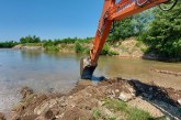 În comuna Recea: A fost finalizată decolmatarea albiei râului Săsar