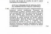Măsura 2: Ordinul 1146/2021 al ministrului Economiei, pentru suplimentarea bugetului, s-a publicat în Monitorul Oficial