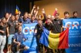 Echipa României a câştigat locul 1 la Campionatul Mondial de Robotică la Chicago